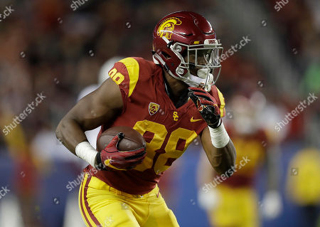 Southern California tight end Daniel Imatorbhebhe (88) runs against Stanford during the first half of of the Pac-12 Conference championship NCAA college football game in Santa Clara, Calif