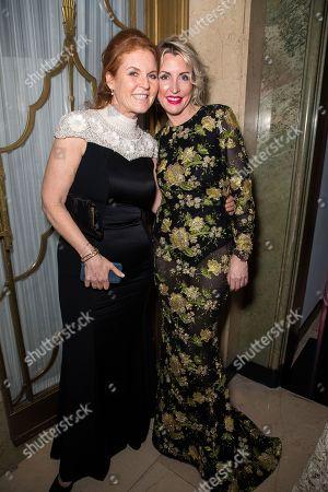 Sarah Ferguson Duchess of York and Heather Mills