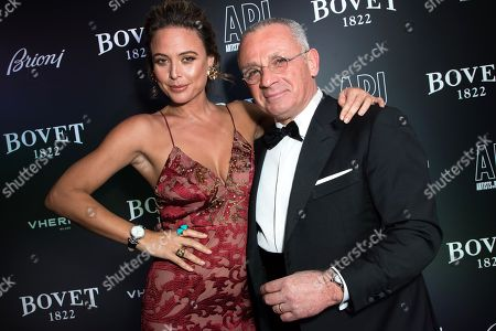Editorial picture of 'Brilliant is Beautiful' gala benefiting Artists for Peace and Justice, London, UK - 01 Dec 2017