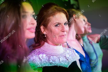 Lara Lieto, Sarah Ferguson Duchess of York, Arizona Muse and Petra Nemcova
