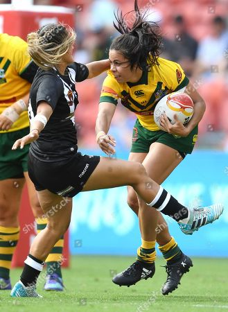 Editorial picture of Women's Rugby League World Cup (WRLWC) final - Australia vs. New Zealand, Brisbane - 02 Dec 2017