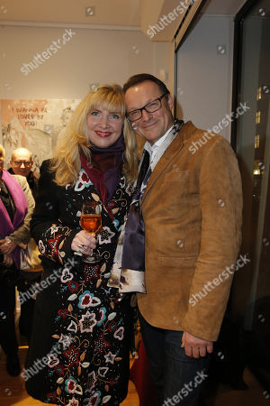 Editorial photo of The Secret Vernissage at Art Gallery Z, Berlin, Germany - 01 Dec 2017