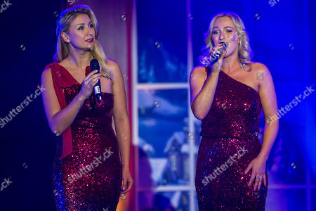 ..Anna-Carina Woitschack (L) and Liane (R)