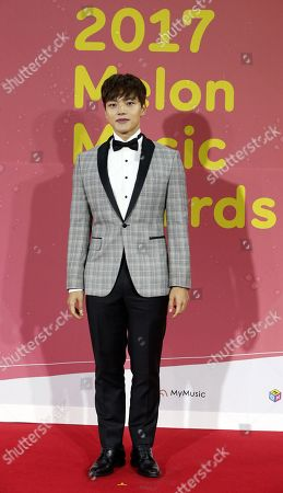 South Korean actor Yeo Jin-goo poses as she arrives for the Melon Music Awards 2017 at the Gocheok Sky Dome in Seoul, South Korea, 02 December 2017. The Melon Music Awards are a major music event that is held annually in South Korea and is organized by LOEN Entertainment through its online music store and hosted by Roen Entertainment, the company's online music website.