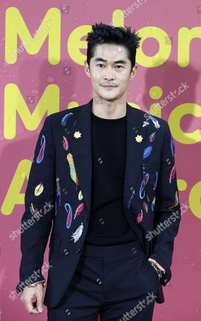 South Korean model and actor Bae Jung-nam poses as he arrives for the Melon Music Awards 2017 at the Gocheok Sky Dome in Seoul, South Korea, 02 December 2017. The Melon Music Awards are a major music event that is held annually in South Korea and is organized by LOEN Entertainment through its online music store and hosted by Roen Entertainment, the company's online music website.