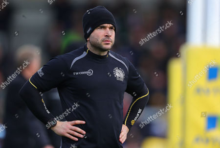 James Parks during the Aviva Premiership match between Exeter Chiefs and Bath at Sandy Park on December 2nd 2017 , Exeter, Devon (