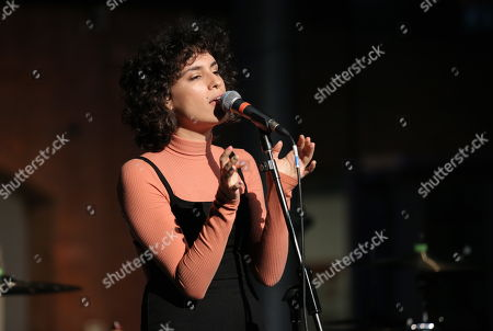 Editorial picture of Sonia Stein in concert, National Waterfront Museum, Swansea, Wales, UK - 23 Nov 2017