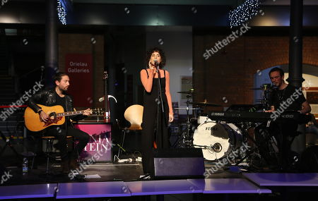Editorial photo of Sonia Stein in concert, National Waterfront Museum, Swansea, Wales, UK - 23 Nov 2017