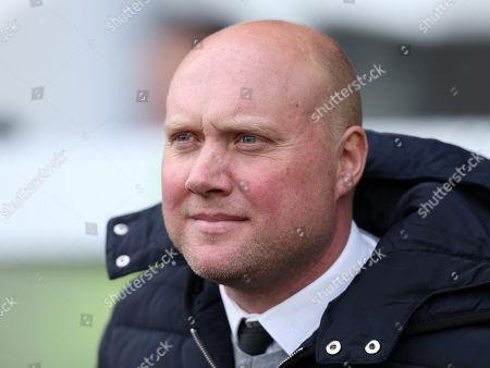 Oxford City's Head Coach Mark Jones