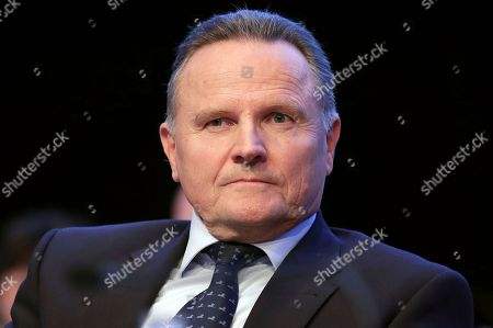 The party's board member Georg Pazderski attends a party convention of the Alternative for Germany, AfD, party in Hannover, Germany