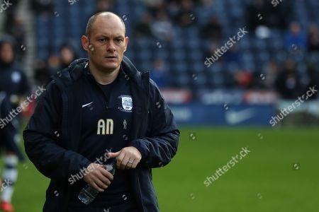 Preston North End manager Alex Neill