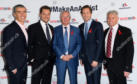Editorial picture of World Aids Day Gala to promote Grassroot Soccer, London, UK - 01 Dec 2017