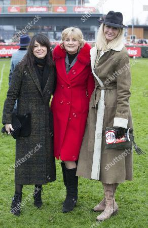 Singer Imelda May, Madeleine Gurdon and Lisa Hogan..