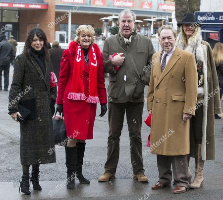 Singer Imelda May, Madeleine Gurdon, Jeremy Clarkson, Sir Andrew Lloyd Webber, Lisa Hogan