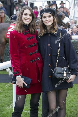 Sisters Chole and Frankie Herbert, daughters of Harry Herbert.