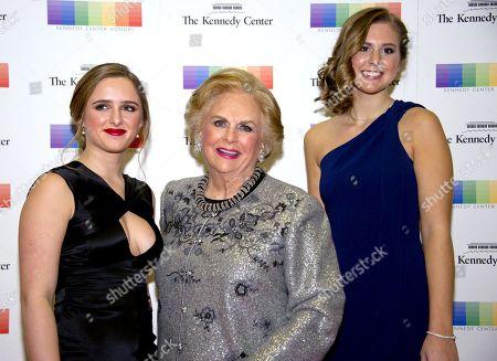 Stock Photo of Jacqueline Mars, Graysen Airth and Katherine Burgstahler