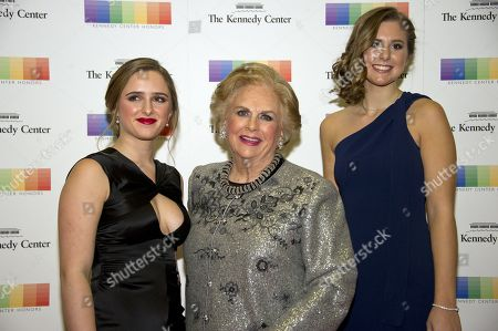 Editorial picture of Arrivals - 2017 Kennedy Center Honors Formal Artist's Dinner, Washington, USA - 02 Dec 2017