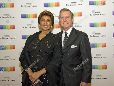 Former United States Secretary of Defense William S. Cohen and his wife, author Janet Langhart Cohen, arrive for the formal Artist's Dinner honoring the recipients of the 40th Annual Kennedy Center Honors hosted by United States Secretary of State Rex Tillerson at the US Department of State in Washington, D.C., 02 December 2017 (issued 03 December 2017). The 2017 honorees are: US dancer and choreographer Carmen de Lavallade, Cuban-US singer-songwriter and actress Gloria Estefan, US hip hop artist and entertainment icon LL COOL J, US television writer and producer Norman Lear and US musician and record producer Lionel Richie.
