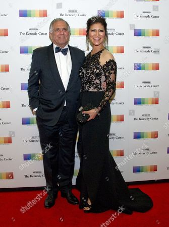 Les Moonves, Chairman of the Board, President and Chief Executive Officer of CBS Corporation, and Julie Chen arrive for the formal Artist's Dinner honoring the recipients of the 40th Annual Kennedy Center Honors hosted by United States Secretary of State Rex Tillerson at the US Department of State in Washington, D.C., 02 December 2017 (issued 03 December 2017). The 2017 honorees are: US dancer and choreographer Carmen de Lavallade, Cuban-US singer-songwriter and actress Gloria Estefan, US hip hop artist and entertainment icon LL COOL J, US television writer and producer Norman Lear and US musician and record producer Lionel Richie.