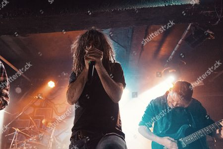 Editorial photo of Sikth in concert at Academy, Manchester, UK - 02 Dec 2017