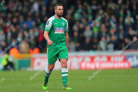 Sammy Moore of Leatherhead during Wycombe Wanderers vs Leatherhead, Emirates FA Cup Football at Adams Park on 3rd December 2017
