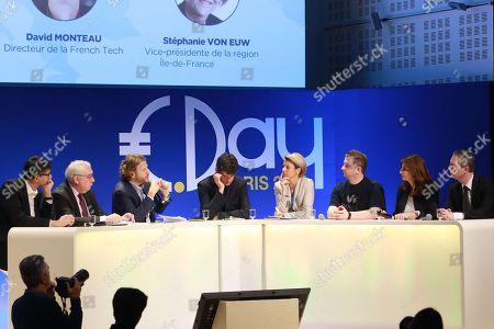 David Monteau, Dominique Calmels, David Layani, Gaspard Koenig, Stephanie Von Euw, Octave Klaba, Valerie Hoffenberg