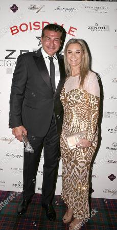 Stock Photo of Tamer Hassan and Karen Hassan