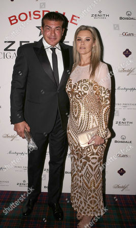 Stock Image of Tamer Hassan and Karen Hassan