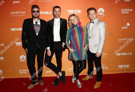 Neon Trees - Branden Campbell, Tyler Glenn, Elaine Bradley and Chris Allen