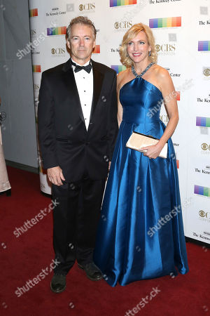 Rand Paul, Kelley Paul. Sen. Rand Paul, left, and wife Kelley Paul attend the 40th Annual Kennedy Center Honors at The Kennedy Center Hall of States, in Washington