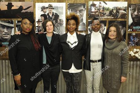 Tamar-Kali - Composer, Rachel Morrison - Cinematographer, Dee Rees - Exec. Producer/Writer/Director, Angie Wells - Makeup Designer, Mako Kamitsuna - Editor