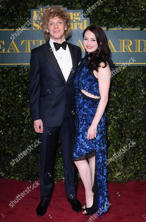 Andrew Polec and Christina Bennington