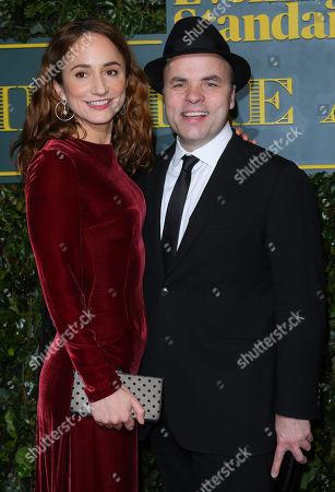 Lydia Leonard and JT Rogers