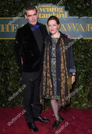 Stock Image of Tanya Ronder and Rufus Norris