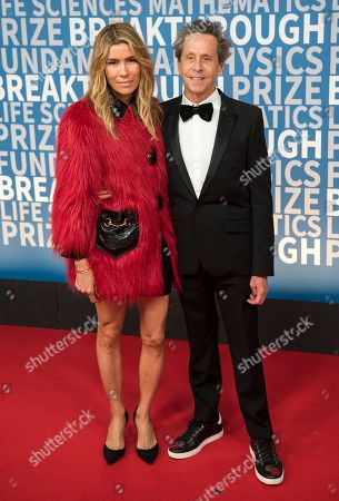 Veronica Smiley, Brian Glazer. Veronica Smiley and Brian Glazer arrive at the 6th annual Breakthrough Prize Ceremony at the NASA Ames Research Center on in Mountain View, California