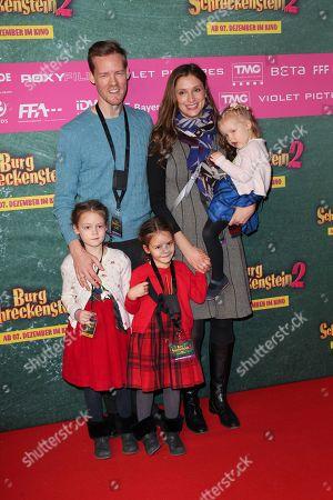 Herbert Kloiber Jr.mit Ehefrau Julia and Kinder,..