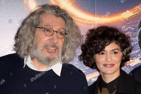 Alain Chabat and Audrey Tautou