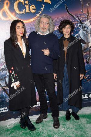 Golshifteh Farahani, Alain Chabat and Audrey Tautou