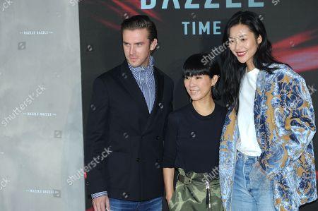 Dan Stevens and l Liu Wen