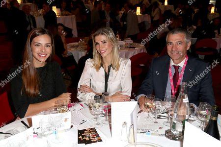 Marine Lorphelin, Alexandra Rosenfeld and Yves Mateo (funder of CAP 34)
