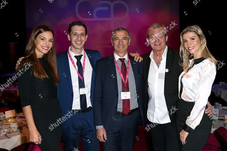 Marine Lorphelin, Arnaud Ellul (CEO at Cap 34) , Yves Mateo (funder of Cap 34) , Pierre Lemarchal and Alexandra Rosenfeld