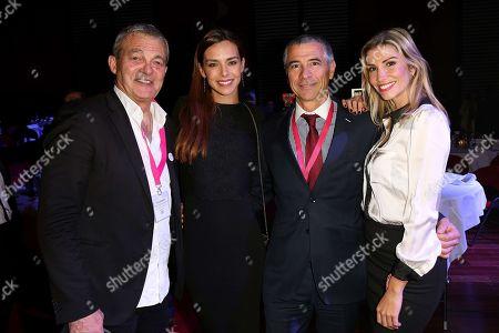 Pierre Lemarchal, Marine Lorphelin, Yves Mateo (funder of CAP 34) and Alexandra Rosenfeld