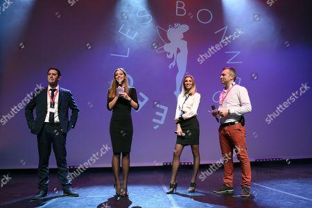 Arnaud Ellul (CEO at CAP 34) , Marine Lorphelin, Alexandra Rosenfeld and F.X (Francois Xavier)