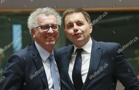 Stock Picture of Peter Kazimir and Pierre Gramegna