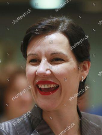Latvian Finance Minister Dana Reizniece-Ozola
