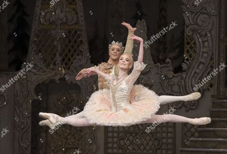 Editorial image of 'The Nutcracker' performed by the Royal Ballet at the Royal Opera House, London, UK, 01 Dec 2017