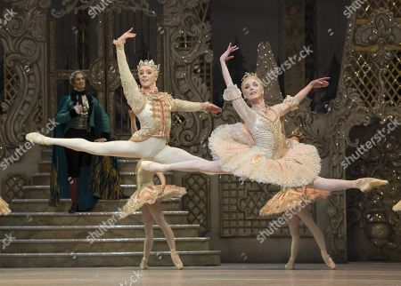 Stock Picture of Sarah Lamb as Sugar Plum Fairy,  Steven McRae as The Prince