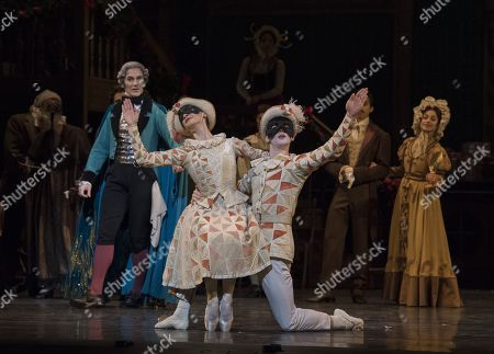 Editorial photo of 'The Nutcracker' performed by the Royal Ballet at the Royal Opera House, London, UK, 01 Dec 2017