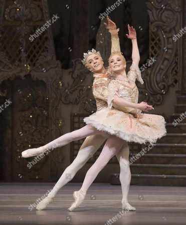 Stock Image of Sarah Lamb as Sugar Plum Fairy,  Steven McRae as The Prince