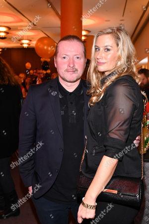 Joey Kelly and Tanja Niethen  ..